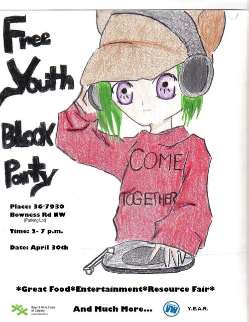 Revised Youth Block Party Poster - Final